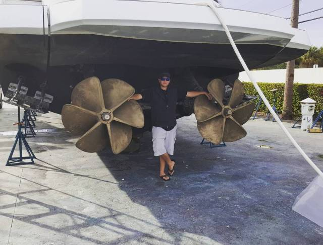 Photo of the Pershing Propellers
